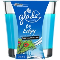 Glade Be Edgy Spring Collection Coconut Water & Freesia Candle