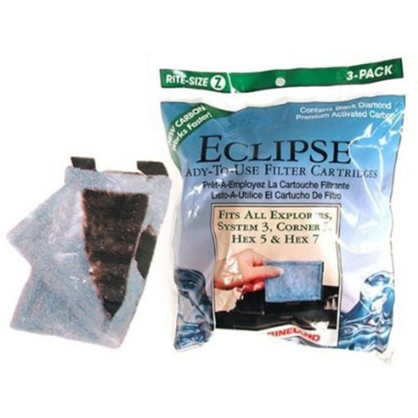 Marineland Eclipse Ready To Use Filter Cartridges For System 3 And Eclipse Explorer
