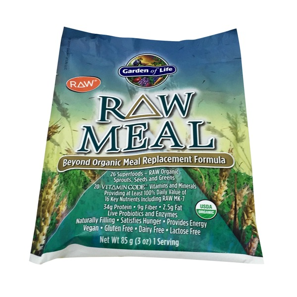 Garden of Life Raw Meal Packet Original