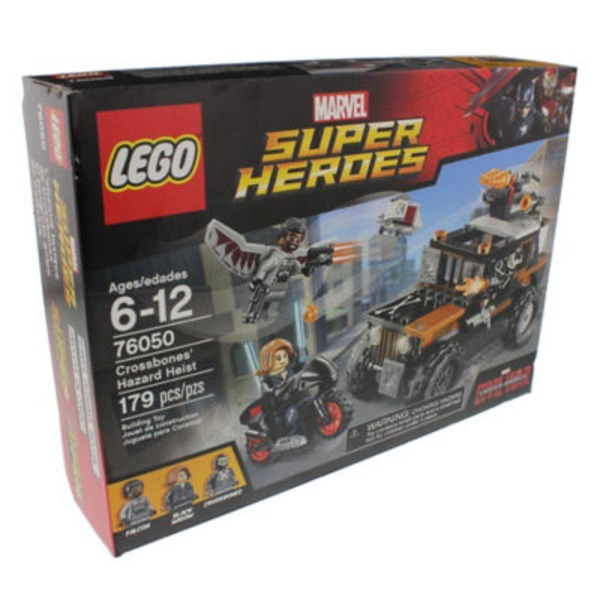 Lego Super Hero Crossbones Hazard Heist