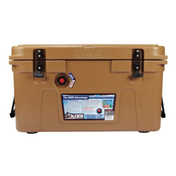 H-E-B 38 Qt Brown Kodi Cooler