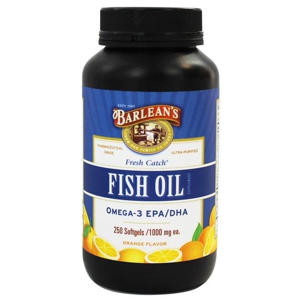 Fish Oil Omega 3 1000 mg Capsules