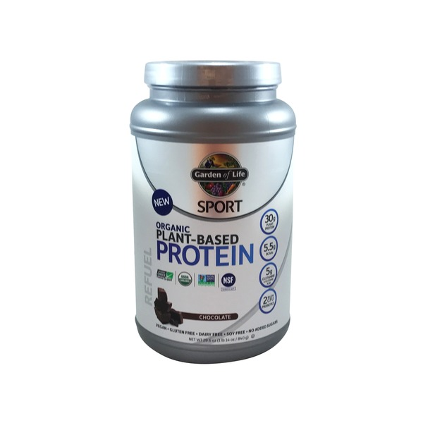 Garden of Life Sport Organic Plant-Based Protein Chocolate Powder