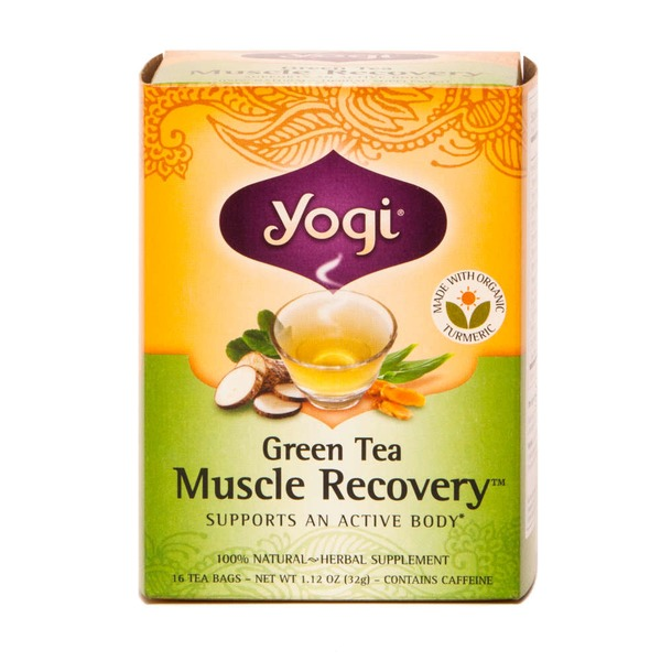 Yogi Green Tea Muscle Recovery Tea