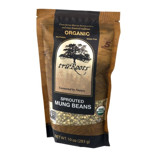 truRoots Organic Sprouted Mung Beans