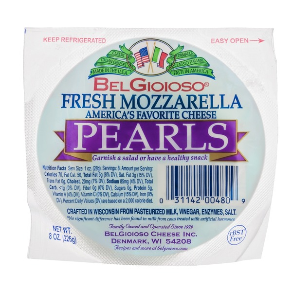 BelGioioso Cheese Mozzarella Fresh Pearls
