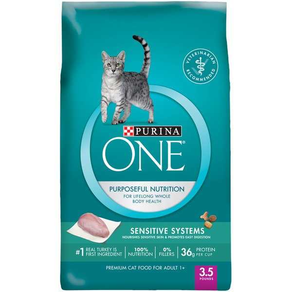 Purina One Cat Dry Adult Sensitive Systems Cat Food