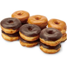 Chocolate And Glazed Donuts 12 Ct