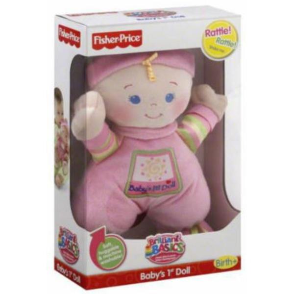 Fisher-Price Baby's 1st Doll (Birth+)