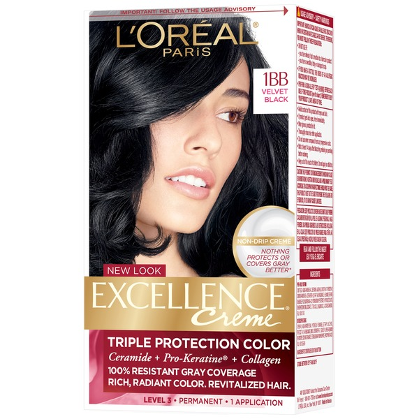 Excellence Creme 1BB Velvet Black Hair Color