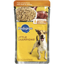 Little Champions Traditional Ground Dinner For Adult Dogs W/ Beef & Cheese