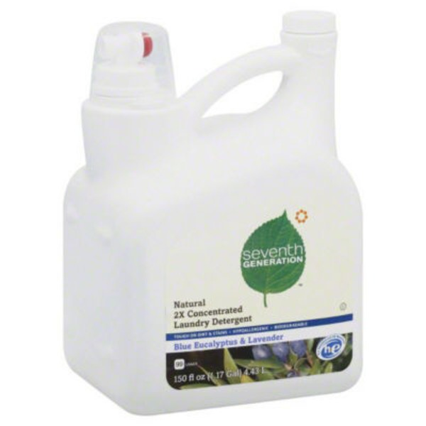 Seventh Generation Blue Eucalyptus & Lavender Laundry Detergent