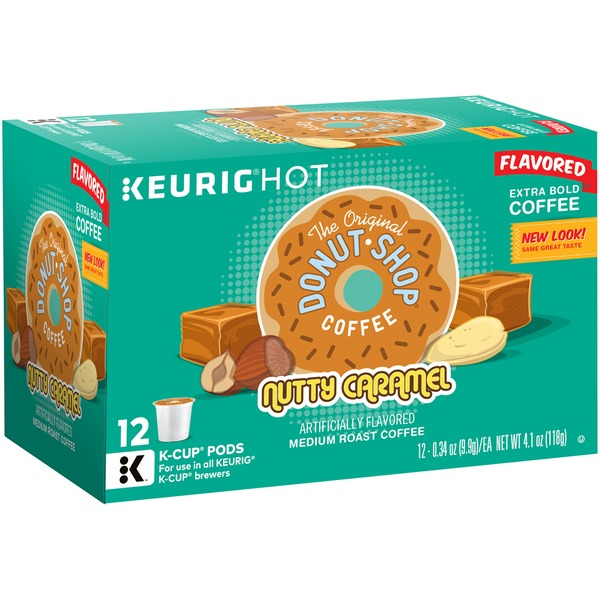 The Original Donut Shop Nutty Caramel K-Cup Packs Coffee