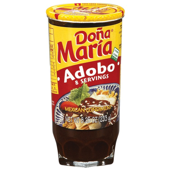 Dona Maria Adobo Mexican Condiment