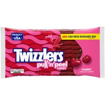 Twizzlers, Cherry Pull 'n' Peel Candy, 14 Oz
