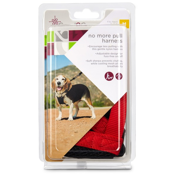 Good 2 Go Red and Black Medium No Pull Dog Harness