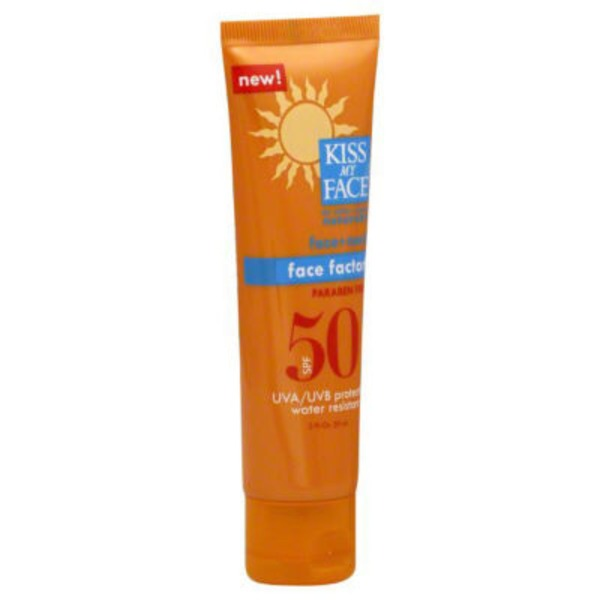 Kiss My Face Sunscreen Face Factor SPF 50