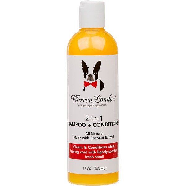 Warren London 2 In 1 Shampoo & Conditioner For Dogs