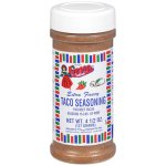 Fiesta Brand Taco Seasoning, 4.5 oz jar