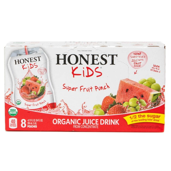 Honest Kids Super Fruit Punch Organic Juice Drink