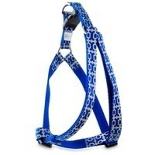 Good2 Go Blue Reflective Bone Dog Comfort Harness Medium