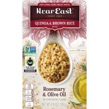 Near East Quinoa & Brown Rice Blend, Rosemary & Olive Oil, 4.9 oz. Box