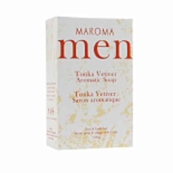 Maroma Men Tonka Vetiver Aromatic Soap