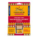 Tiger Balm Pain Relieving Ointment Red Extra Strength, 0.63 OZ