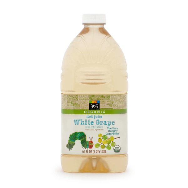 365 100% Organic White Grape Juice