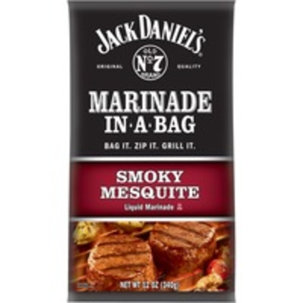 Jack Daniel's Marinade in a Bag Smoky Mesquite Liquid Marinade