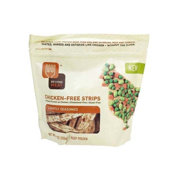 Beyond Meat Chicken-Free Strips Lightly Seasoned