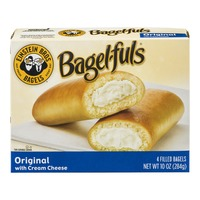 Bagel-fuls Einstein Bros. Bagels Bagel-fuls Original with Cream Cheese - 4 CT