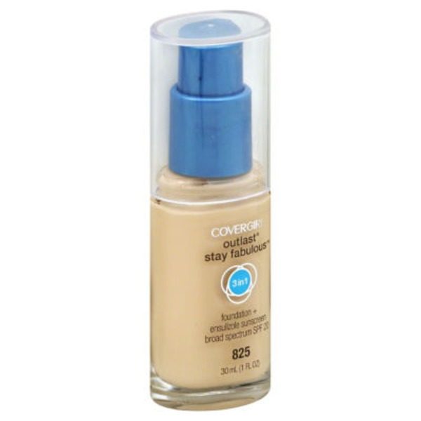 CoverGirl Outlast All Day COVERGIRL Outlast All-Day Stay Fabulous 3-in-1 Foundation, Buff Beige 1 fl oz (30 ml) Female Cosmetics