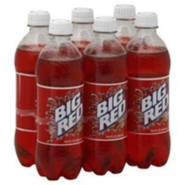 Big Red Soda Bottles