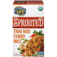 Lundberg Family Farms Organic Sprouted Thai Red Curry Rice