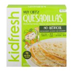 Kidfresh Muy Cheesy Quesadillas, 4.2 OZ