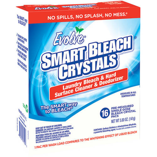 Evolve SmartBleach Crystals Laundry Bleach & Hard Surface Cleaner & Deodorizer