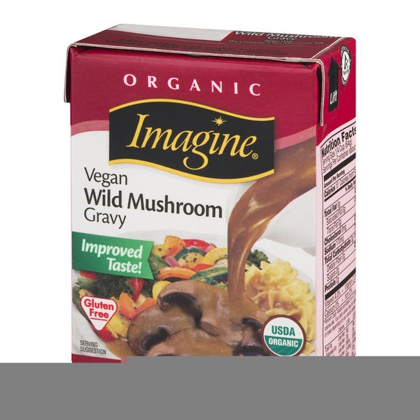 Imagine Foods Organic Vegetarian Wild Mushroom Gravy