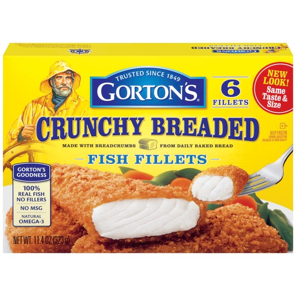 Gorton's Crunchy Breaded 6 ct Fish Fillets