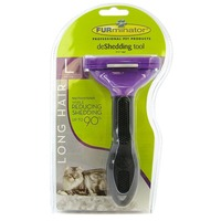 FURminator Long Hair De Shedding Tool For Large Cats