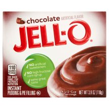 Jell-O Instant Pudding & Pie Filling Chocolate, 3.9 Oz