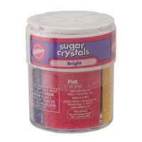 Wilton Sugar Crystals Bright 4 Cell Sprinkles