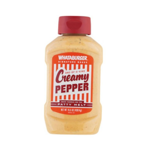 Whataburger One-Of-A-Kind Creamy Pepper Sauce