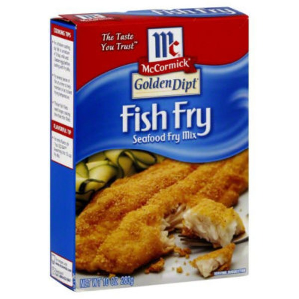 Mccormick Golden Dipt Fish Fry Seafood Fry Mix