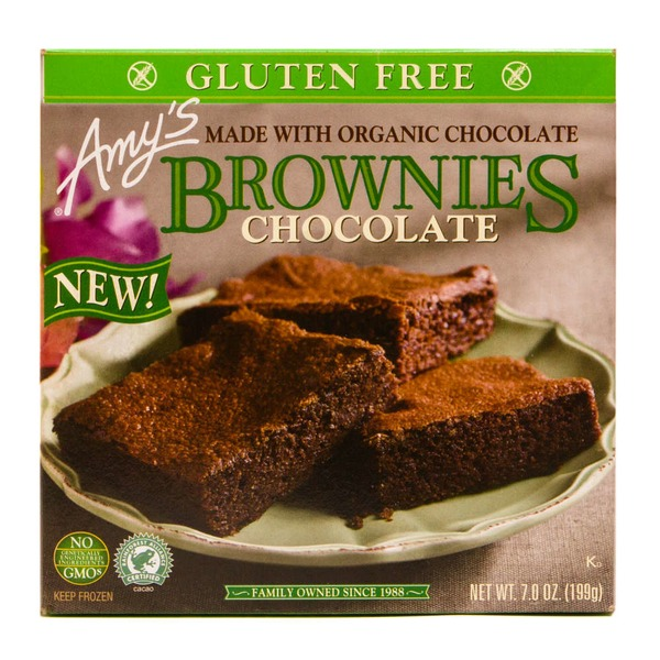 Amy's Brownies, Gluten Free, Chocolate
