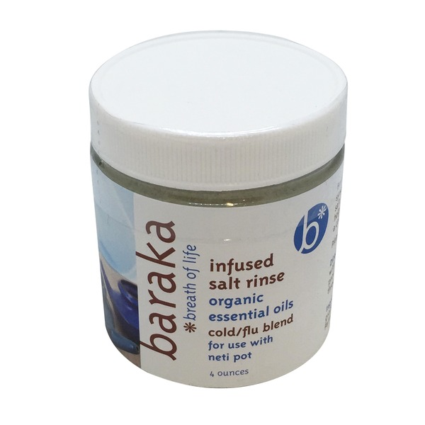 Baraka Breath Of Life Infused Nasal Salt Rinse