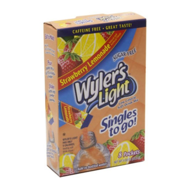 Wyler's Light Strawberry Lemonade Packets