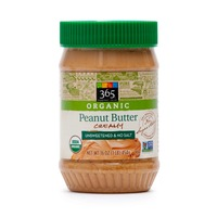 365 Unsalted And Unsweetened Creamy Peanut Butter