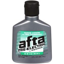 Afta Pre-Electric Original Shave Lotion With Skin Conditioners, 3 Oz