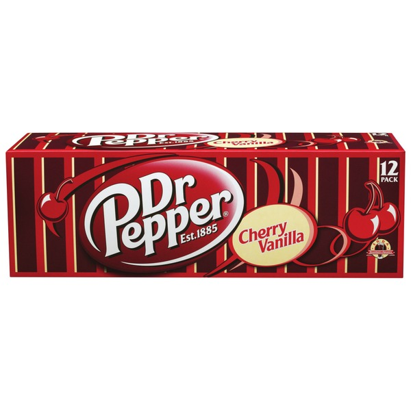 Dr. Pepper Cherry Vanilla Soda